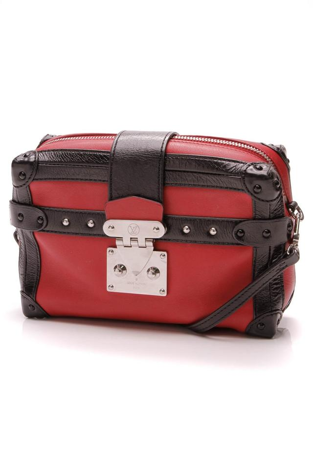 f6fe0674cc86 Louis Vuitton Malle Petite Soft Mm - Red Black Red Leather Cross Body Bag
