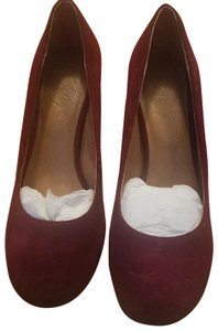 Bettye Muller Dark berry Pumps