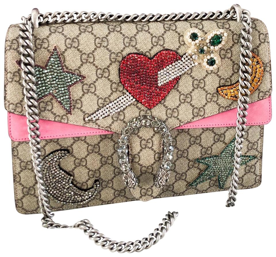 58111c2b3be Gucci Dionysus Embellished Crystal Medium Chain Shoulder Bag - Tradesy
