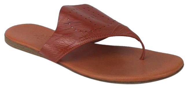 Item - Orange Patent Thong Sandals Size EU 38 (Approx. US 8) Regular (M, B)