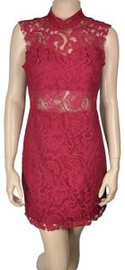 Dainty Hooligan Lace Sheath Occasion Dress