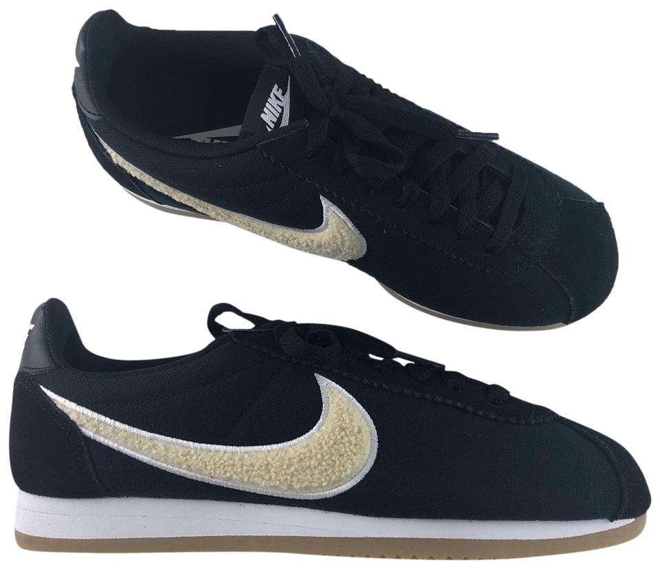 new product 936b8 06337 Nike Black Women's Cortez Premium This Version Features Premium Materials  and Elevated Design Details For A Look. Sneakers Size US 8.5 Narrow (Aa, N)  ...