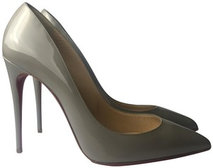 Christian Louboutin gray Pumps