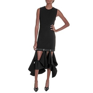 Dion Lee short dress Black Cocktail Fitted on Tradesy