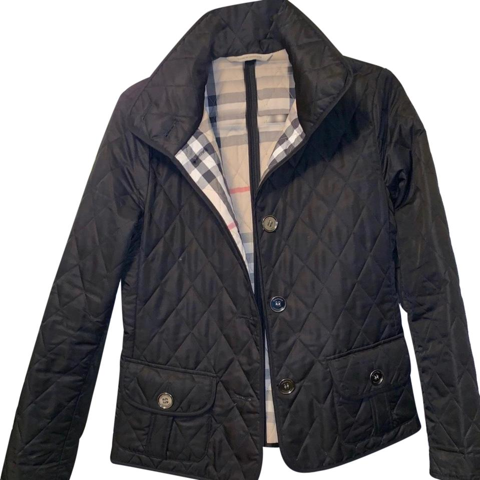 4b4ce85f1064 Burberry Black Women's London Quilted Jacket Size 4 (S) - Tradesy