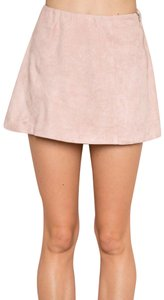 Brandy Melville Mini Skirt Rose