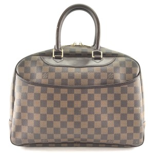Louis Vuitton Deauville Satchel Shoulder Bag