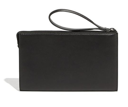 Salvatore Ferragamo Black Clutch Image 1
