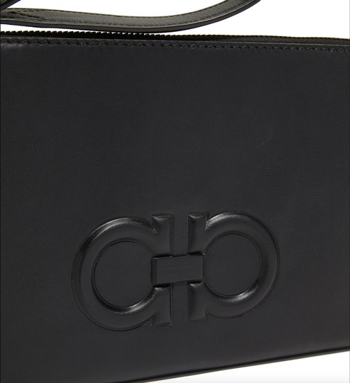 Salvatore Ferragamo Black Clutch Image 2