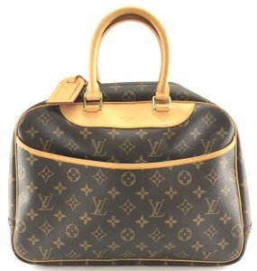 Louis Vuitton Lv Deauville Tote Satchel in Monogram
