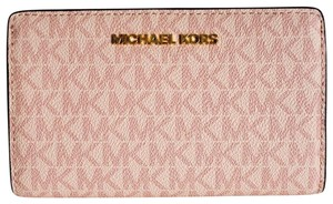 91aadade2aa3 Michael Kors Michael kors Jet set Slim Bifold logo pvc Leather Wallet