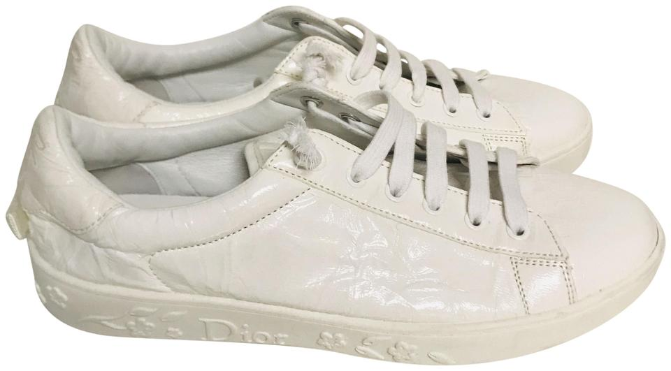 bfd633aec15 Dior Cream Low Top Sneakers Size EU 37.5 (Approx. US 7.5) Regular (M ...