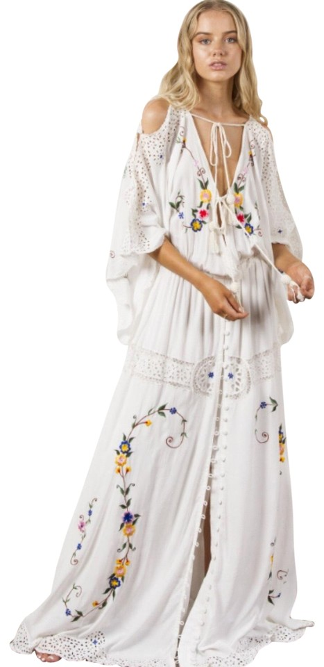 d76b7033409 Fillyboo Little Big Love Embroidered Boho Long Casual Maxi Dress ...