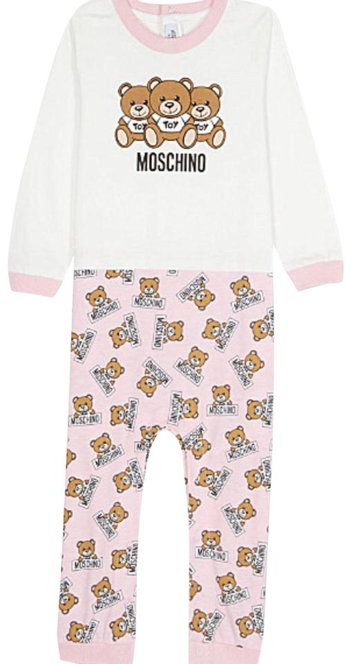 c9663acf0b7 Moschino Pink Teddy Bear 6-9 Months All-in-one Romper Jumpsuit - Tradesy