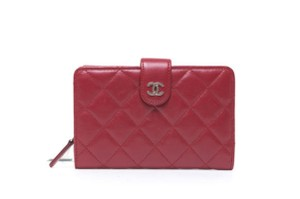 f953527abb0c Chanel Chanel French Purse Red Lambskin Wallet