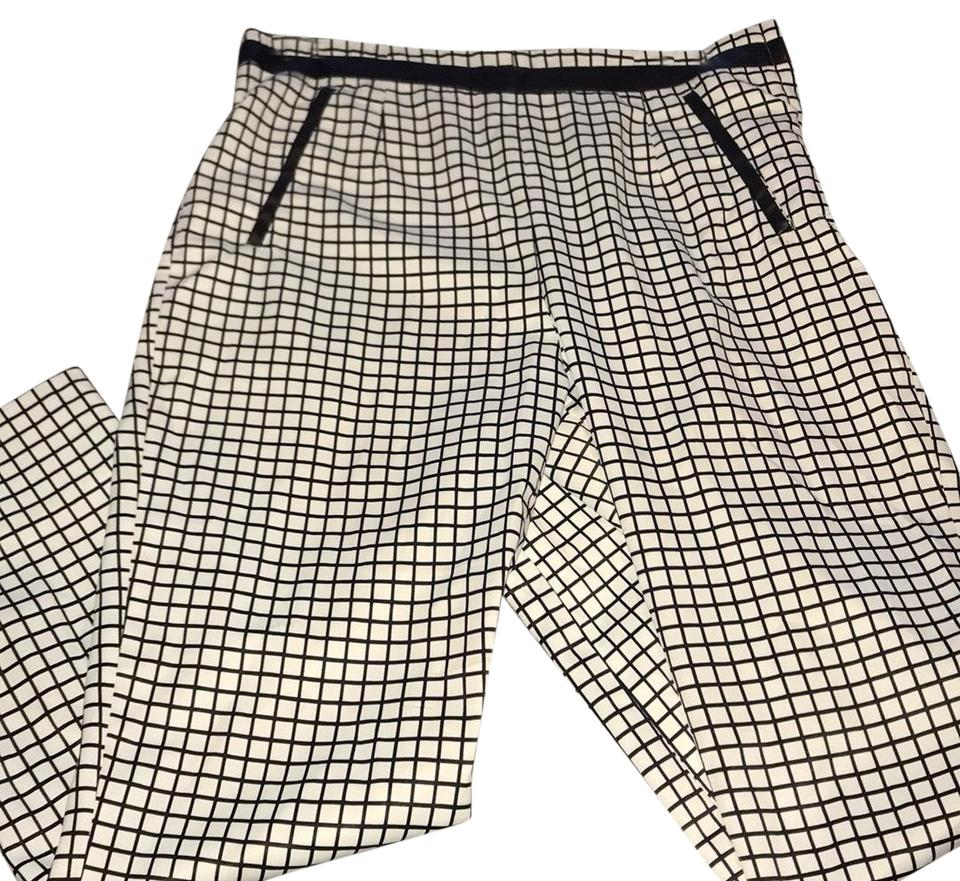 a706a3dd9d Ark   Co. Black and White Checkered Print Pants Size 6 (S