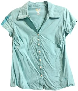 Mountain Hardwear Button Down Shirt Seafoam Green