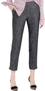 J.Crew Martie Sequin Herringbone Straight Pants