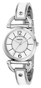 Fossil ES2473 Ultra-Slim White Bracelet Watch