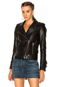 IRO Ruffle Leather Jacket
