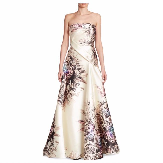 Preload https://img-static.tradesy.com/item/24682642/multicolor-floral-print-satin-gown-long-formal-dress-size-4-s-0-0-650-650.jpg