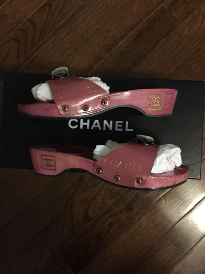 Chanel Hot Pink Mules Image 1