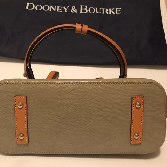 Dooney & Bourke Tote in Taupe/Hot Pink Image 2