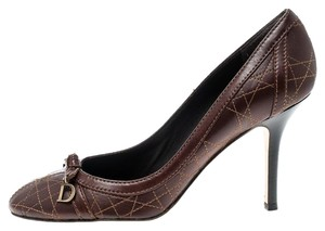 Dior Leather Brown Pumps