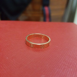 Cartier Size 55 rose gold