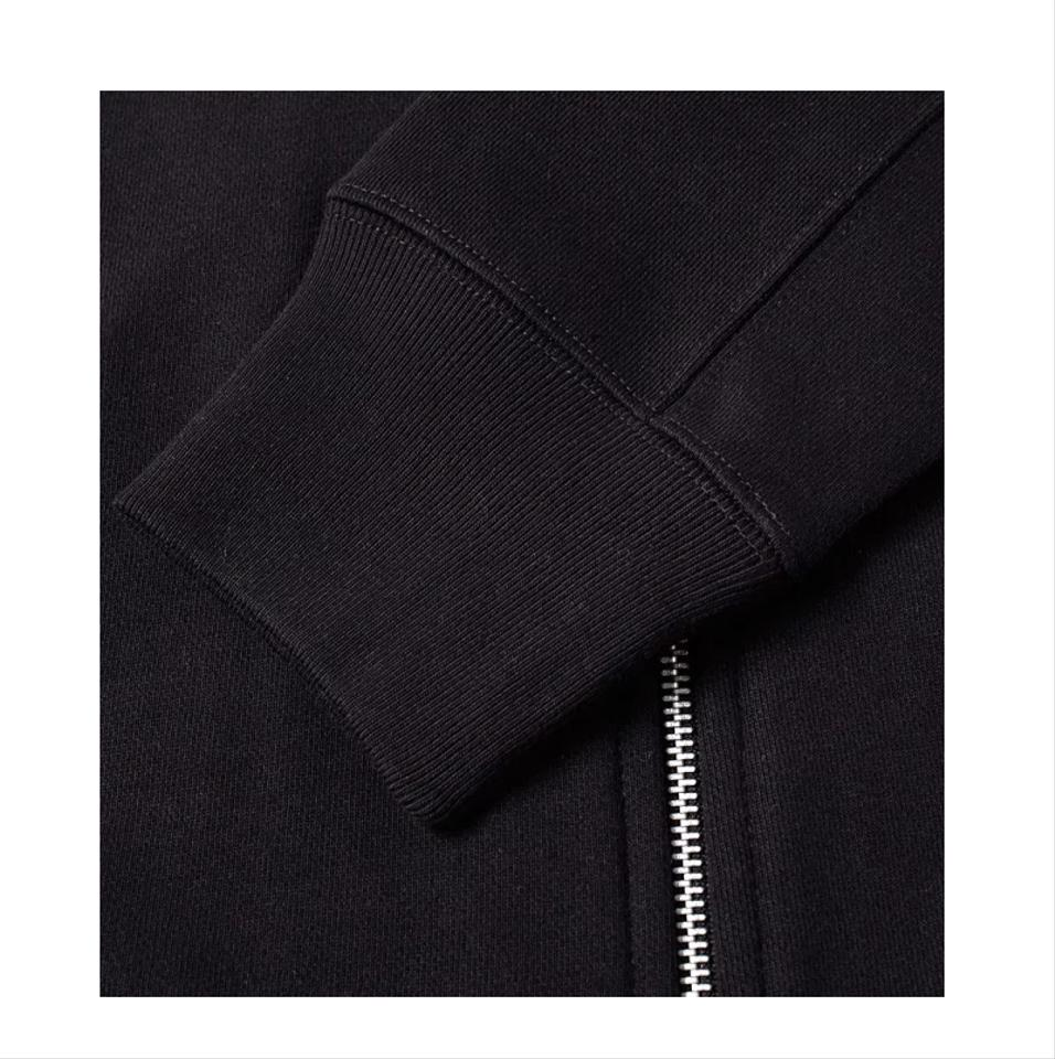 46e81e64c Black Zip Sweat Bomber Jacket