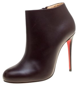 4d6496d86e6f Brown Christian Louboutin Boots   Booties - Up to 90% off at Tradesy