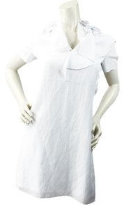 ELIE TAHARI short dress WHITE on Tradesy