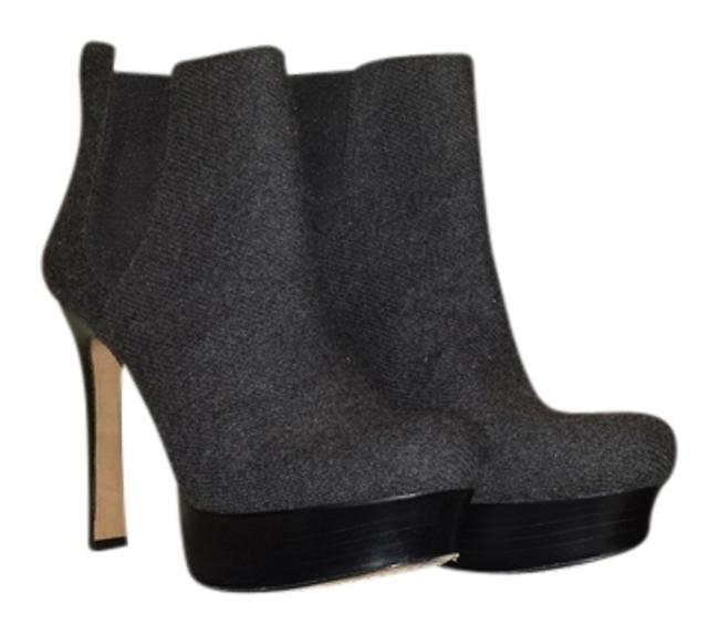 Item - Gray Boots/Booties Size US 8.5