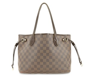 Louis Vuitton Coated Canvas Gold-tone Adult Tote in Brown