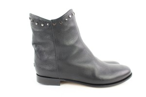 Jimmy Choo Chelsea Riding Ankle Black Boots