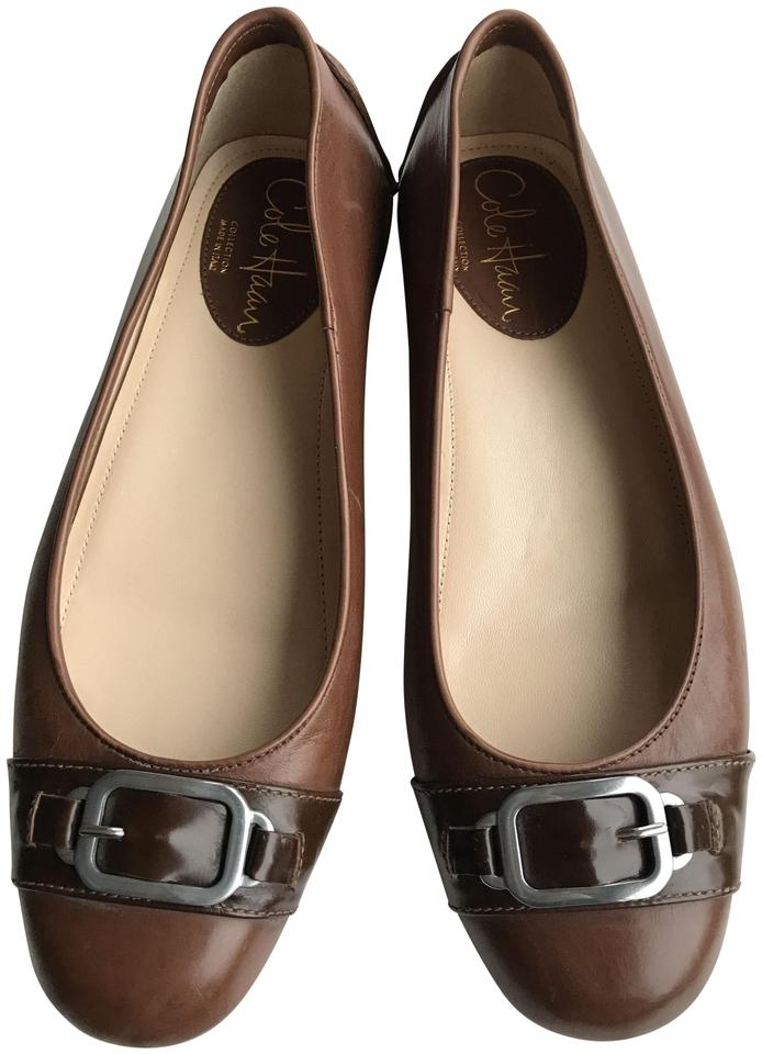 7bcce7e94f5 Cole Haan Light Brown Louisa Drivers In Luggage Flats. Size  US 7.5 Regular  (M ...