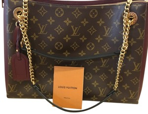 15a3696f7a Louis Vuitton Surene Mm Bordeaux Monogram Canvas Shoulder Bag