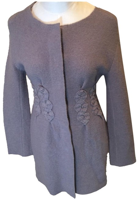 Item - Lavender Appliqué Coat Size 2 (XS)