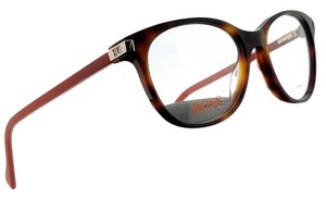 44c80c5b02f5 Hugo Boss BO0184-KBG-52 Oval Women's Havana Frame Clear Lens Genuine  Eyeglasses