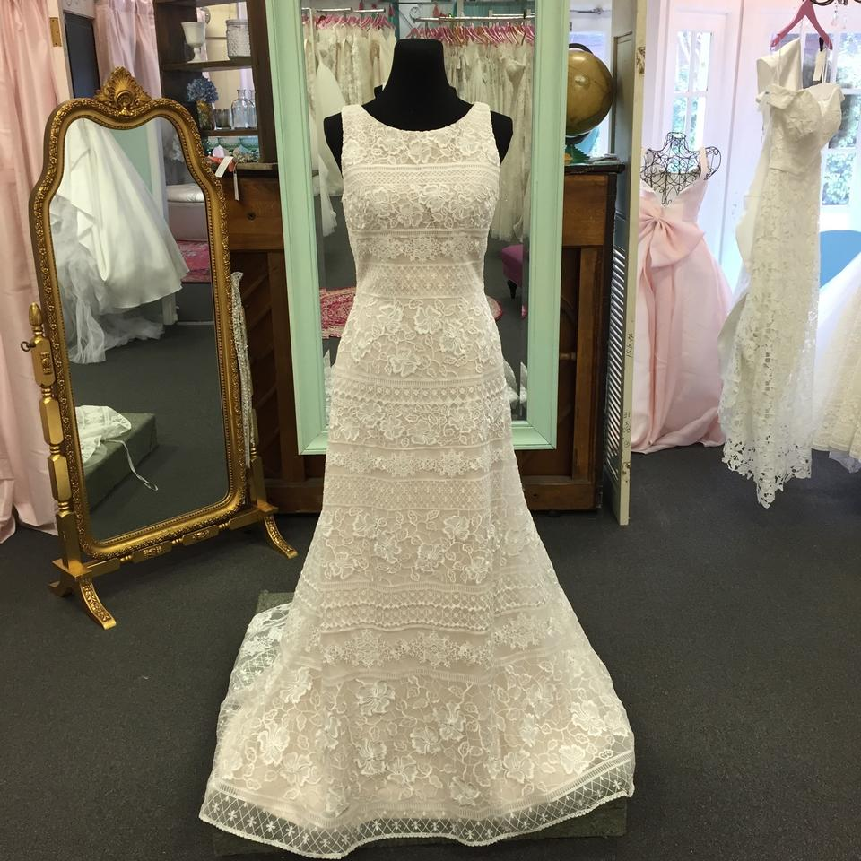 Maggie Sottero Lace Wedding Gown: Maggie Sottero Iv/Blush Lace Danielle Traditional Wedding