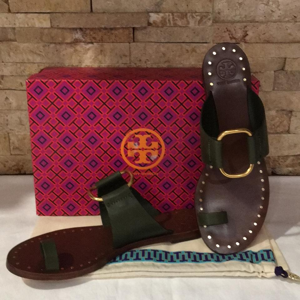 c44f4e0f6 Tory Burch Leccio Brannan Studded Sandals Size US 9.5 Regular (M