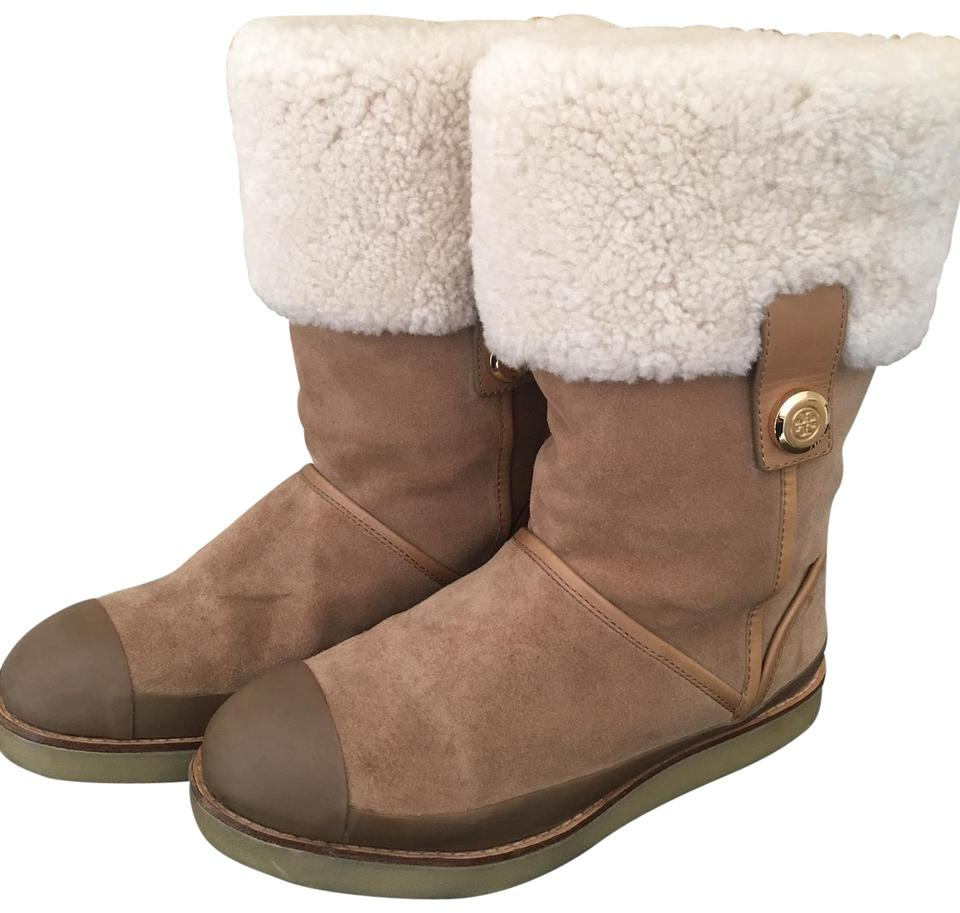 46e76e8851c0 Tory Burch Beige Margaret Style Boots Booties. Size  US 8 Regular (M ...