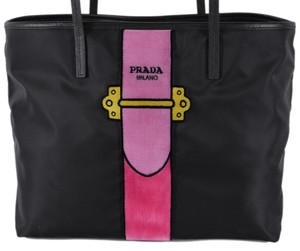 Prada Handbag Purse Wallet Tote in Black