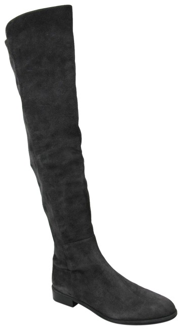 Item - Dark Gray Allgood Anthracite Suede Knee High 9w Boots/Booties Size US 9 Wide (C, D)