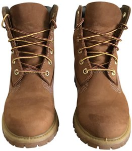 Timberland Nubuck Water-resistant Leather Insulated Winter Wheat Boots