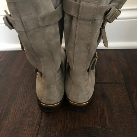 Burberry gray/ taupe Boots Image 3