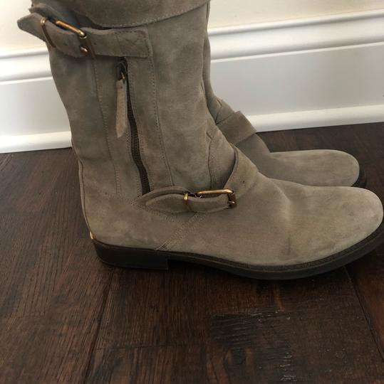 Burberry gray/ taupe Boots Image 4