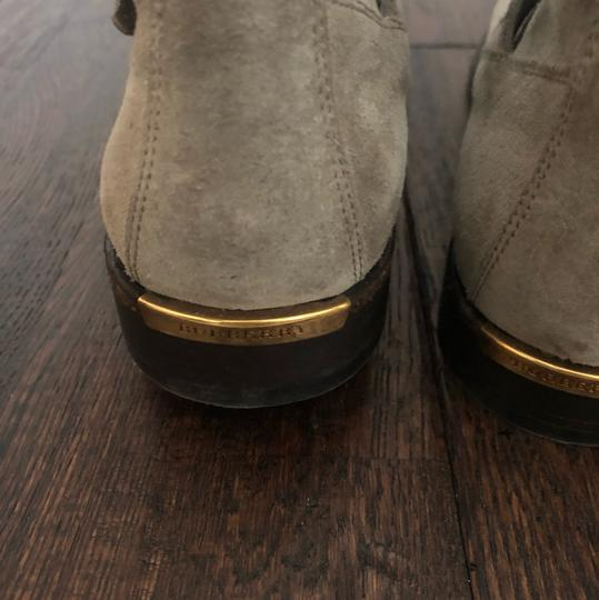 Burberry gray/ taupe Boots Image 5