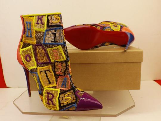 Christian Louboutin Multicolor Boots Image 3