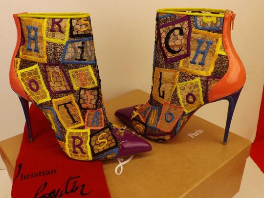 Christian Louboutin Multicolor Boots Image 4